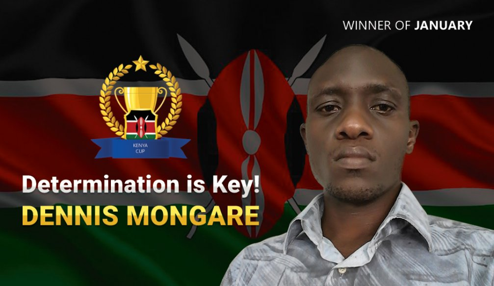 Dennis Mongare Unsurprised to Win!