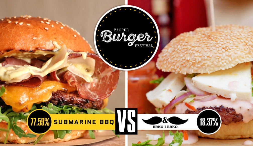 First Burger Festival in Zagreb