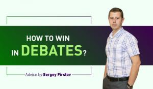 Sergey Firstov: 'Do Not Fear Participating in Debates'