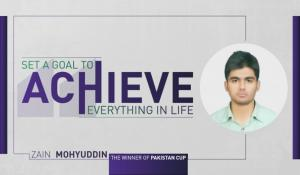 "Zain Mohyuddin: ""This is not only earning, it is more like learning different aspects that are helpful in life."""