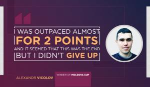 "Alexandr Vicolov: ""I learn to develop my analytical mindset, study the thinking logic of other people"""