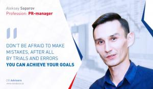 "Aleksey Saparov: ""Mastery comes with the years"""