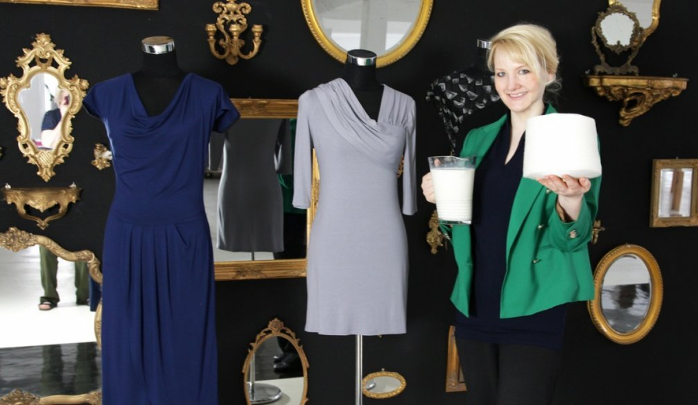 Qmilch – Clothing Made from Milk