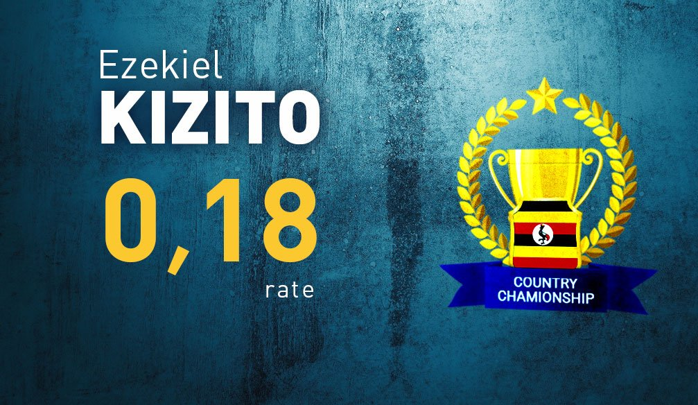 Ezekiel Kizito Only 0.18 Points Away From Winning