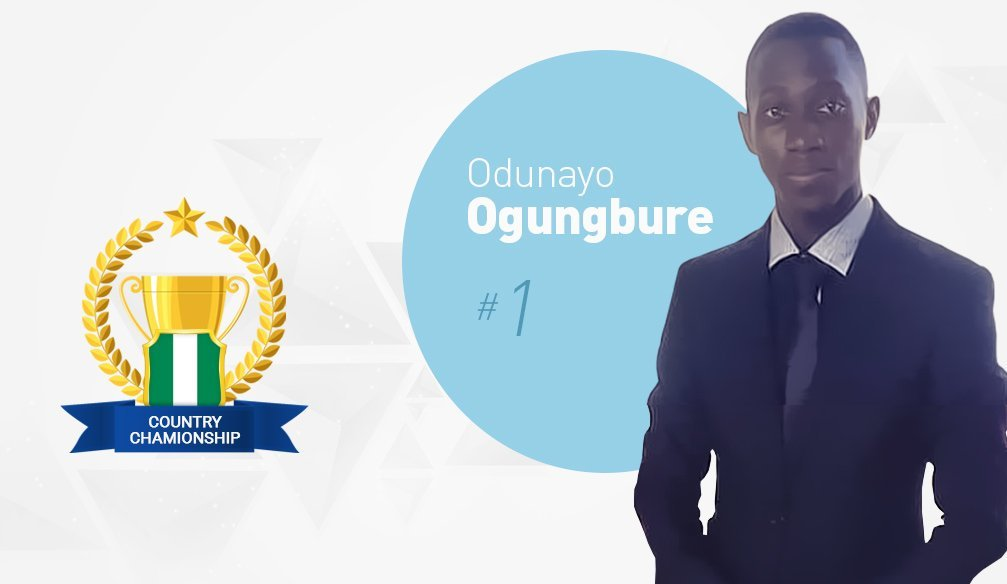 Odunayo Ogungbure – New Leader in the Championship of Nigeria